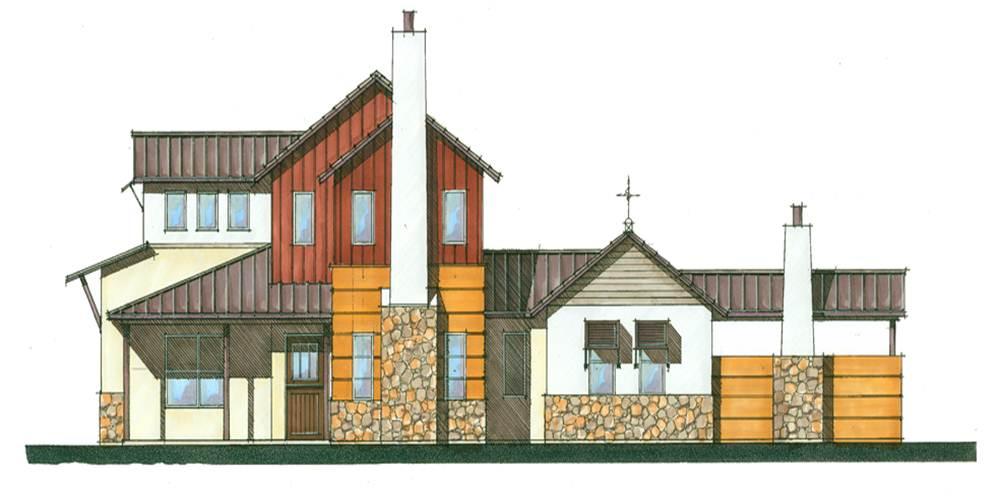 Ed binkley design for Industrial farmhouse design
